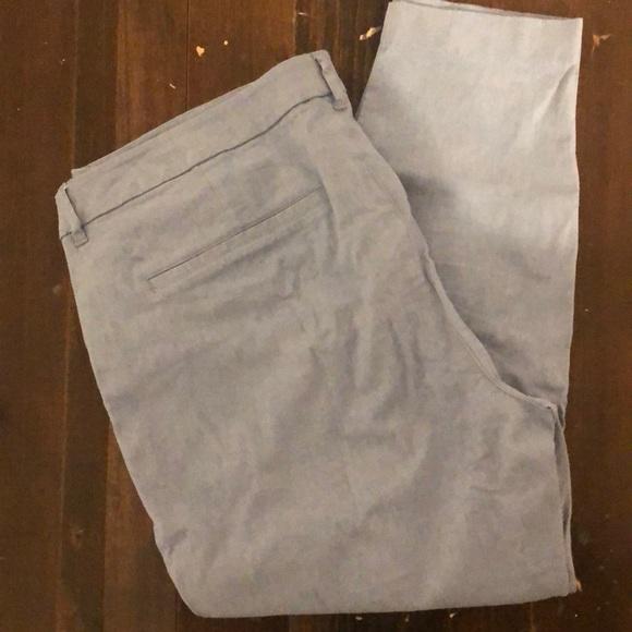 Old Navy Pants - NEW ON Linen Pixie Pants